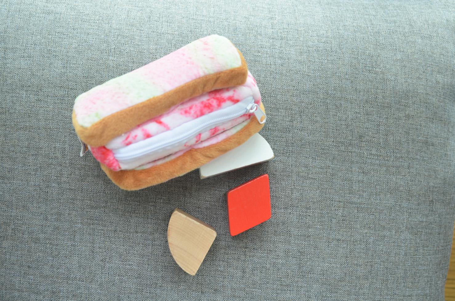 Ice Cream Sandwich Pouch